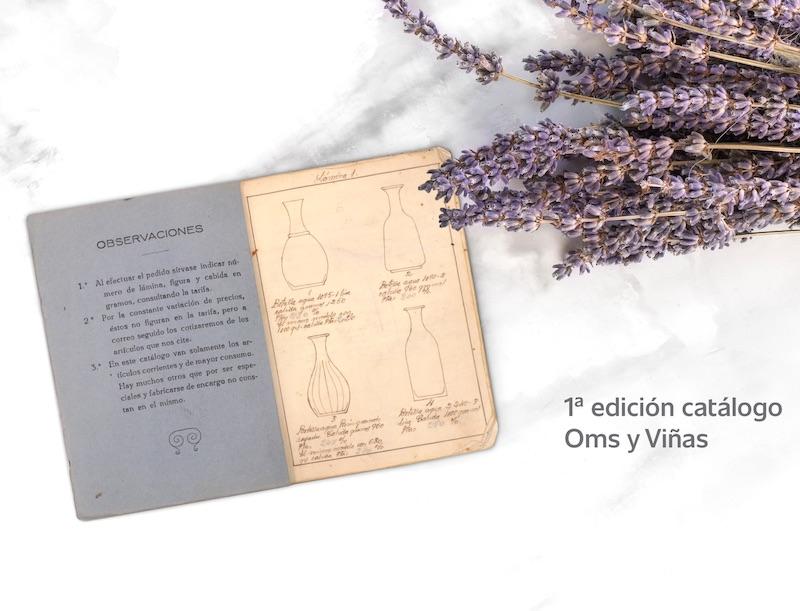 1ª edición del catálogo de Oms y Viñas